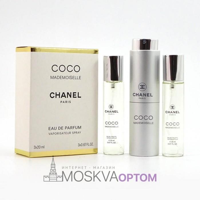 Chanel COCO mademoiselle женский 3х20ml