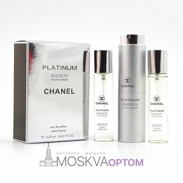 Chanel Platinum Egoiste мужской 3х20ml