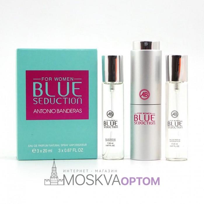 Antonio Banderos Blue Seduction for women женский 3х20ml