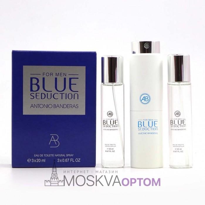 Antonio Banderos Blue Seduction for men  3х20ml