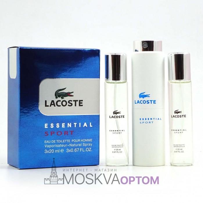 Lacoste Essential Sport мужской 3х20ml