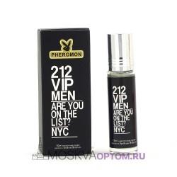 Масляные духи с феромонами Carolina Herrera 212 VIP Men 10 ml