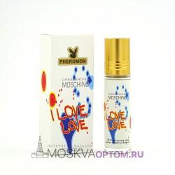 Масляные духи с феромонами Moschino I Love Love 10 ml