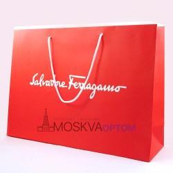 Пакет подарочный Salvatore Ferragamo (25*35)
