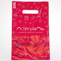 Полиэтиленовый подарочный пакет Летуаль (29*19)