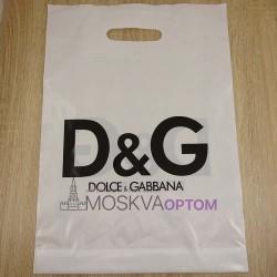 Полиэтиленовый подарочный пакет Dolce & Gabbana (40*30)