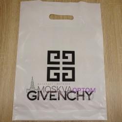 Полиэтиленовый подарочный пакет Givenchy (40*30)