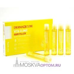 Маска- филлер витаминный FarmStay Derma Cube Vita Clinic Hair Filler (1 шт)