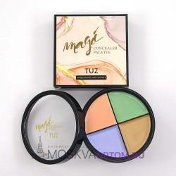 Палетка консилеров для лица TUZ Magic Concealer Color Mixer