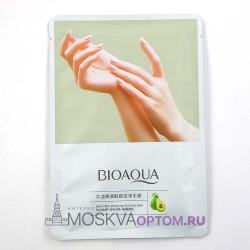 Маски-перчатки для питания и смягчения кожи рук с экстрактом авокадо и маслом ши BioAqua