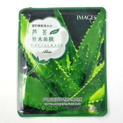 Тканевая маска с экстрактом алое Images Pure Source Sheet Mask Aloe Rubber