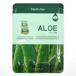 Увлажняющая тканевая маска FarmStay Aloe с экстрактом алоэ