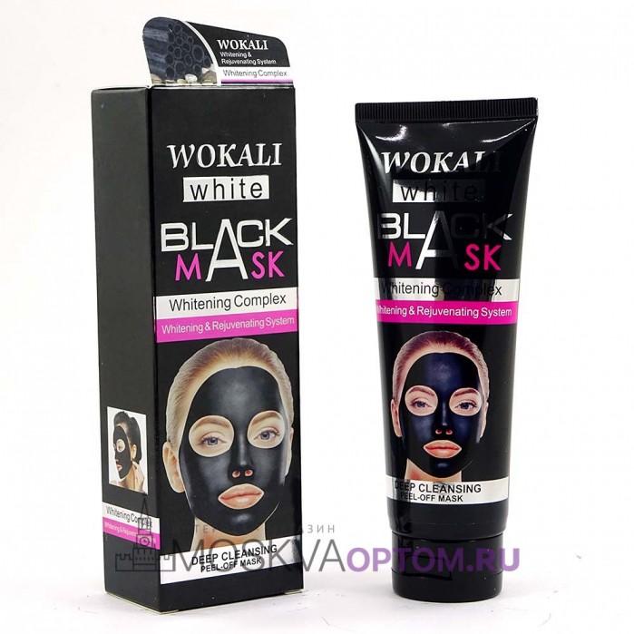 Черная маска для лица Wokali Black Mask