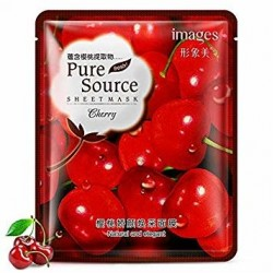 Тканевая маска с вишней Images Pure Source Sheet Mask Cherry