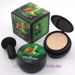 Кушон для лица TUZ Snail Collagen CC Cream № 01