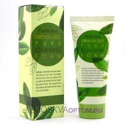 Пенка для умывания с экстрактом семян зеленого чая FarmStay Green Tea Seed