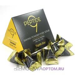 Скраб в пирамидках с содой и пептидами FarmStay Peptide 9 Baking Powder Pore Scrub (1 шт)
