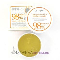 Гидрогелевые патчи с коллагеном и коэнзимом Petitfee 98% Collagen & CoQ10 Hydro Gel Eye Patch