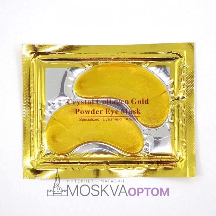 Патчи для глаз Collagen Crystal (золотые)