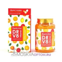 Многофункциональная витаминная сыворотка Farmstay Dr.V8 Vitamin Ampoule