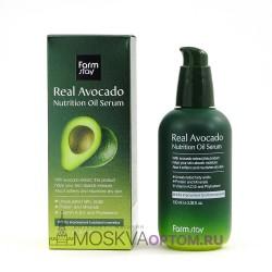 Питательная сыворотка FarmStay Real Avocado с маслом авокадо