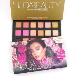 Палетка теней Huda Beauty Rose Gold Palette Remastered