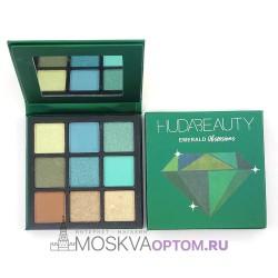 Палетка теней Huda Beauty Sapphire Obsessions Emerald