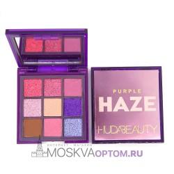 Палетка теней Huda Beauty Haze Purple