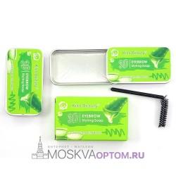 Воск для укладки бровей Kiss Beauty 3D Eyebrow Styling Soap Aloe, 10 г