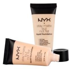 Тональный крем NYX Stay Matte But Not Flat Liquid Foundation (тон № 3)