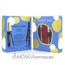 Набор для макияжа глаз Vivienne Sabo Mascara Cabaret Artistic + Eyeliner Feutre Fin 801