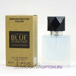 Тестер Antonio Banderas Blue Seduction for Men Edp, 55 ml (Dubai)