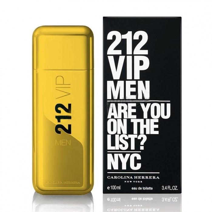 Carolina Herrera 212 VIP Men Gold Edt, 100 ml