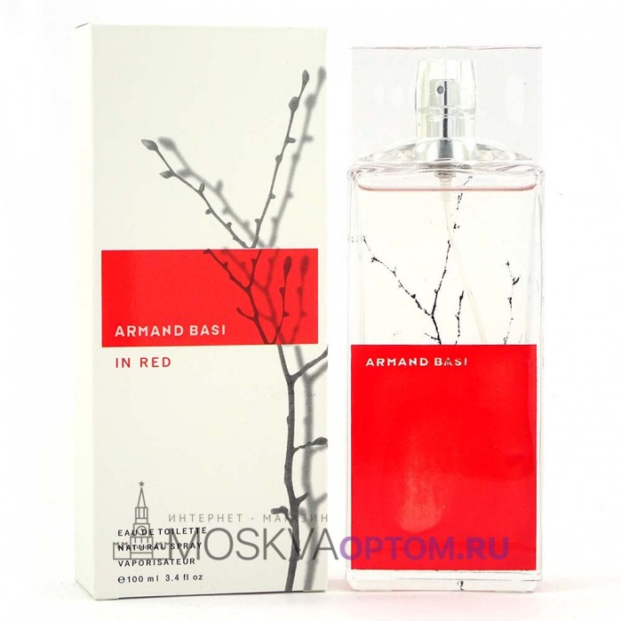 Armand Basi In Red Edt, 100 ml