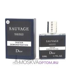 Тестер Christian Dior Sauvage 50 мл мужской