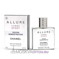 Тестер Chanel Allure Homme Sport  50 мл мужской