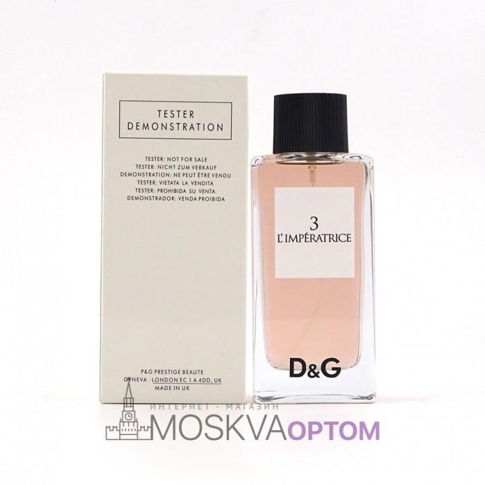 Тестер Dolce&Gabbana 3 L`imperatrice EDT женский