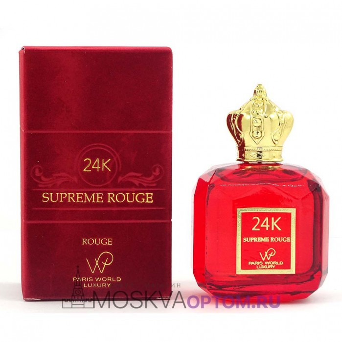 Paris World Luxury 24K Supreme Rouge Edp, 100 ml (LUXE Премиум)