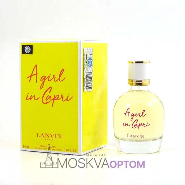 Lanvin A girl in Capri Edt, 90 ml (LUXE евро)