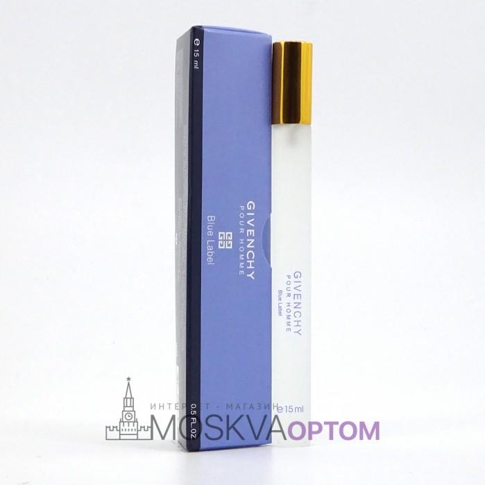 Givenchy Pour Homme Blue Label мужской 15 ml