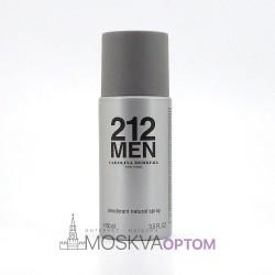 Мужской дезодорант Carolina Herrera 212 Men