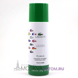 Мужской дезодорант Lacoste L.12.12 Blanc Edition Limitee Florida 200 ml